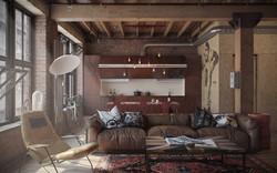 Мебель в стиле лофт для дома