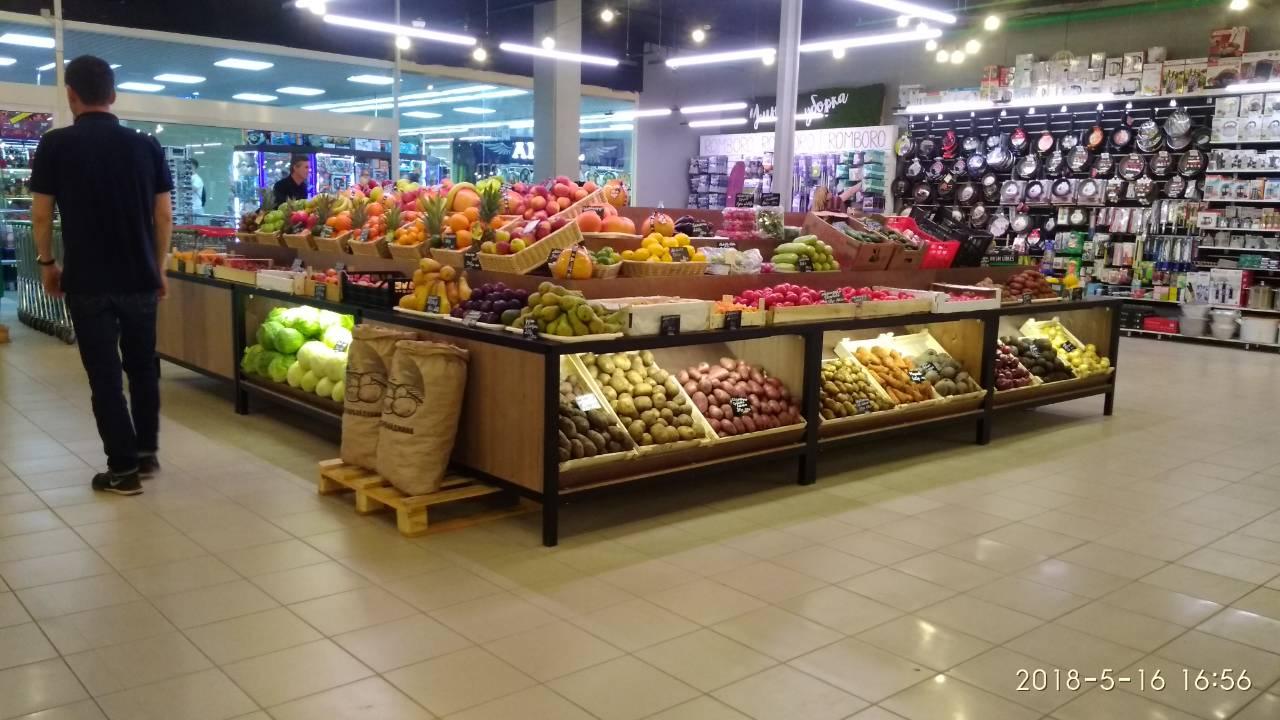 Торговая мебель для рынков и базаров