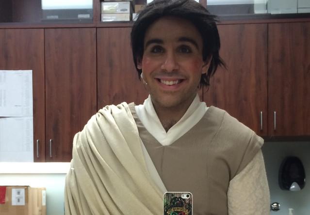 My Jedi-esque Finale costume