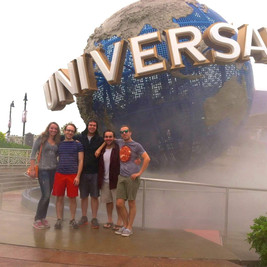 (Most of our cast) in Orlando
