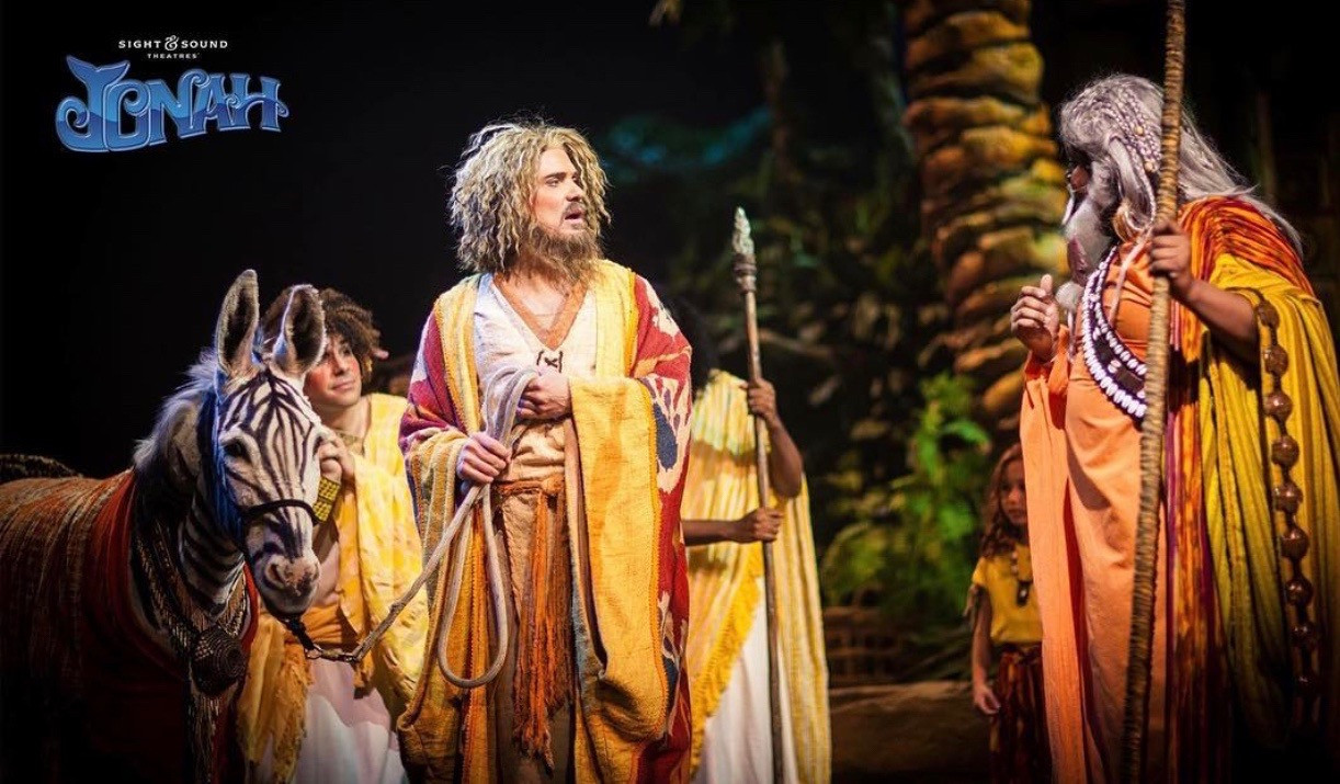 Jonah washed ashore