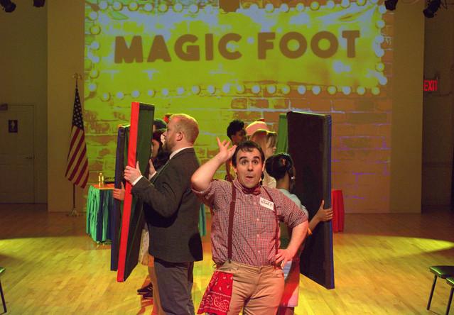 """Magic Foot"""