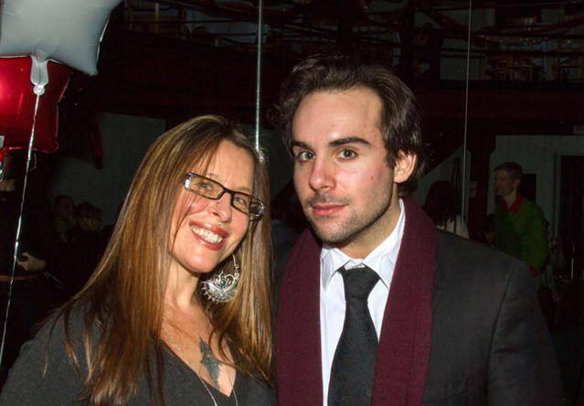 Tammy & me on closing night at the Eis House