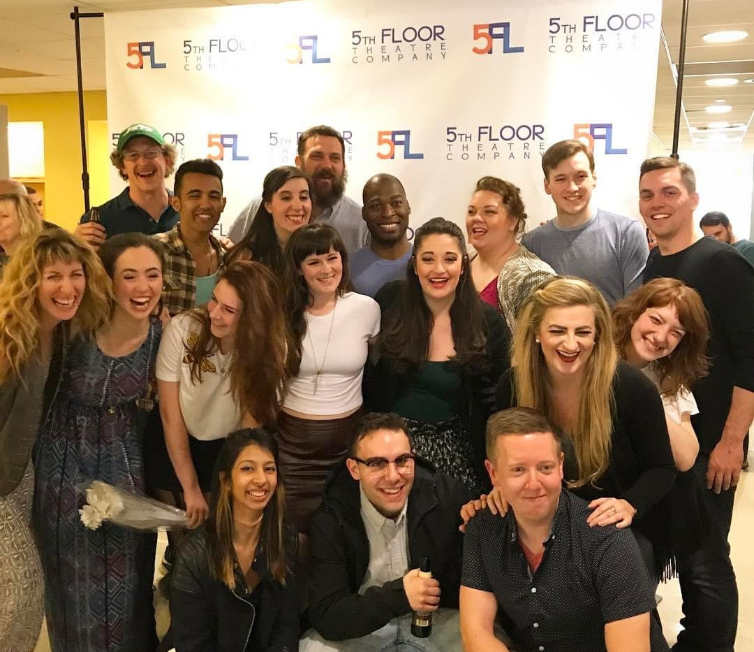 Cast & Creatives on closing night
