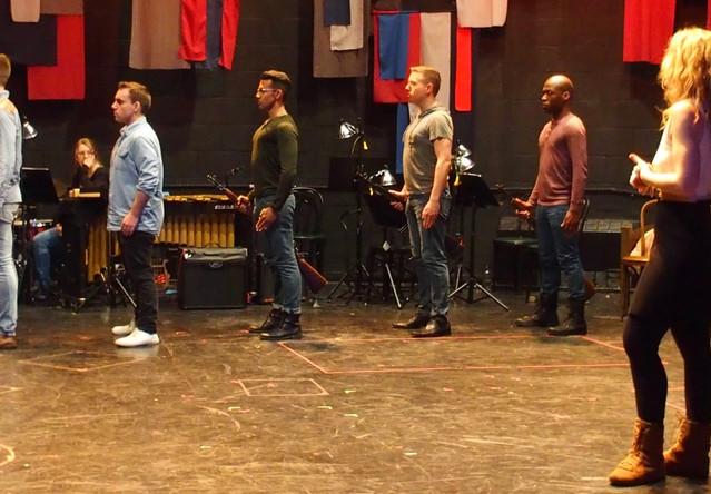 Rehearsal w/ Robin Sokoloff