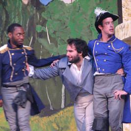 Don Pedro, Leonato & Benedick