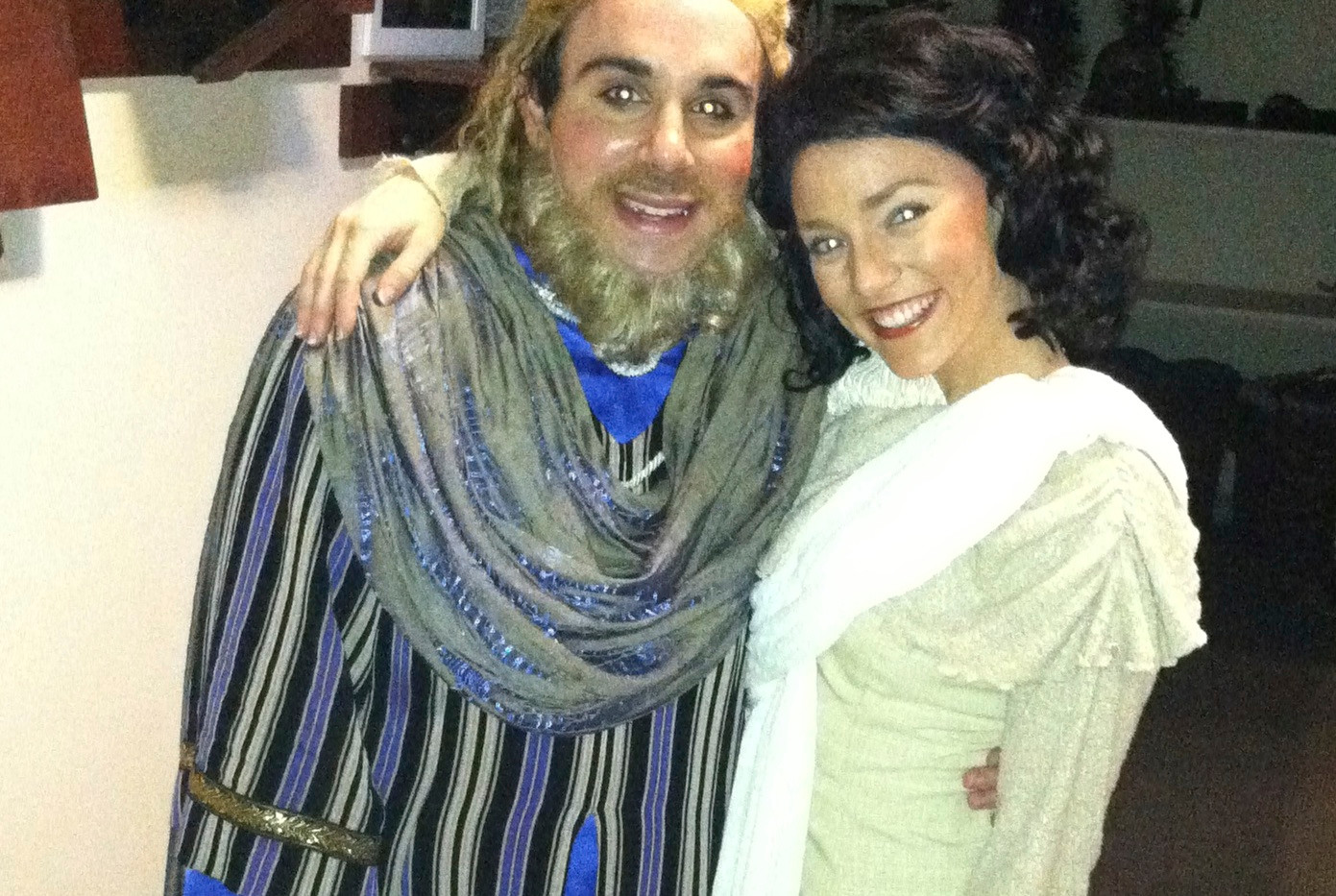 Myself (as Jonah) and Mary Lamb.