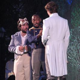Leonato, Don Pedro & Claudio