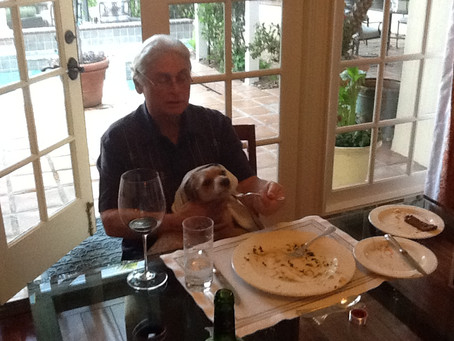 Rudy's first passover.