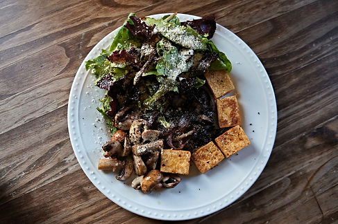 organic tofu salad