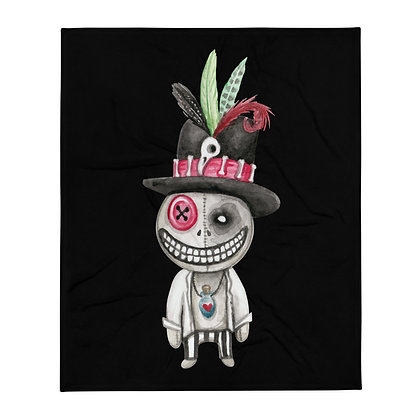 "Voodoo Boy 50x60"" Throw Blanket"