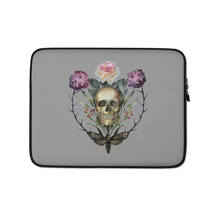 Skull & Moth Laptop Sleeve