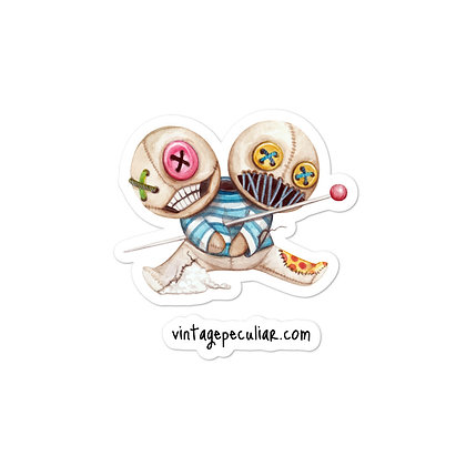 Voodoo Twins Bubble-free stickers