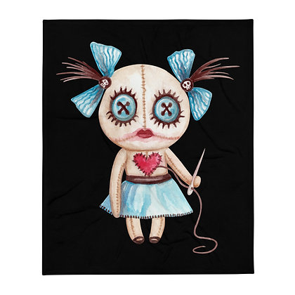 "Voodoo Girl 50x60"" Throw Blanket"