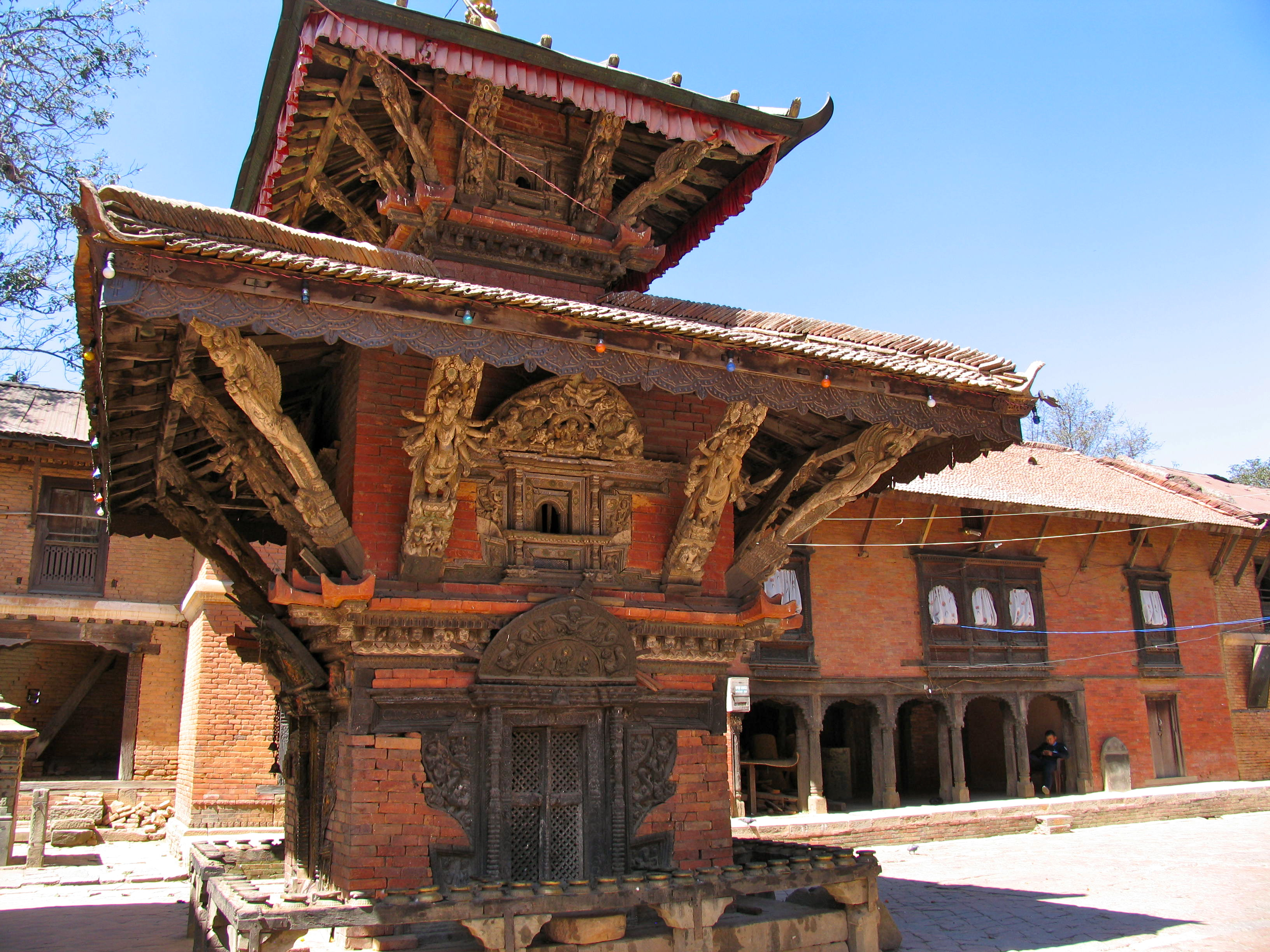 The oldest temple in Nepal, now gone