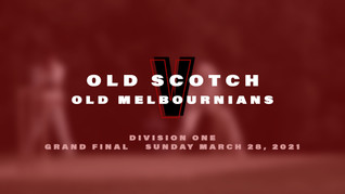 Old Scotch into the division one final
