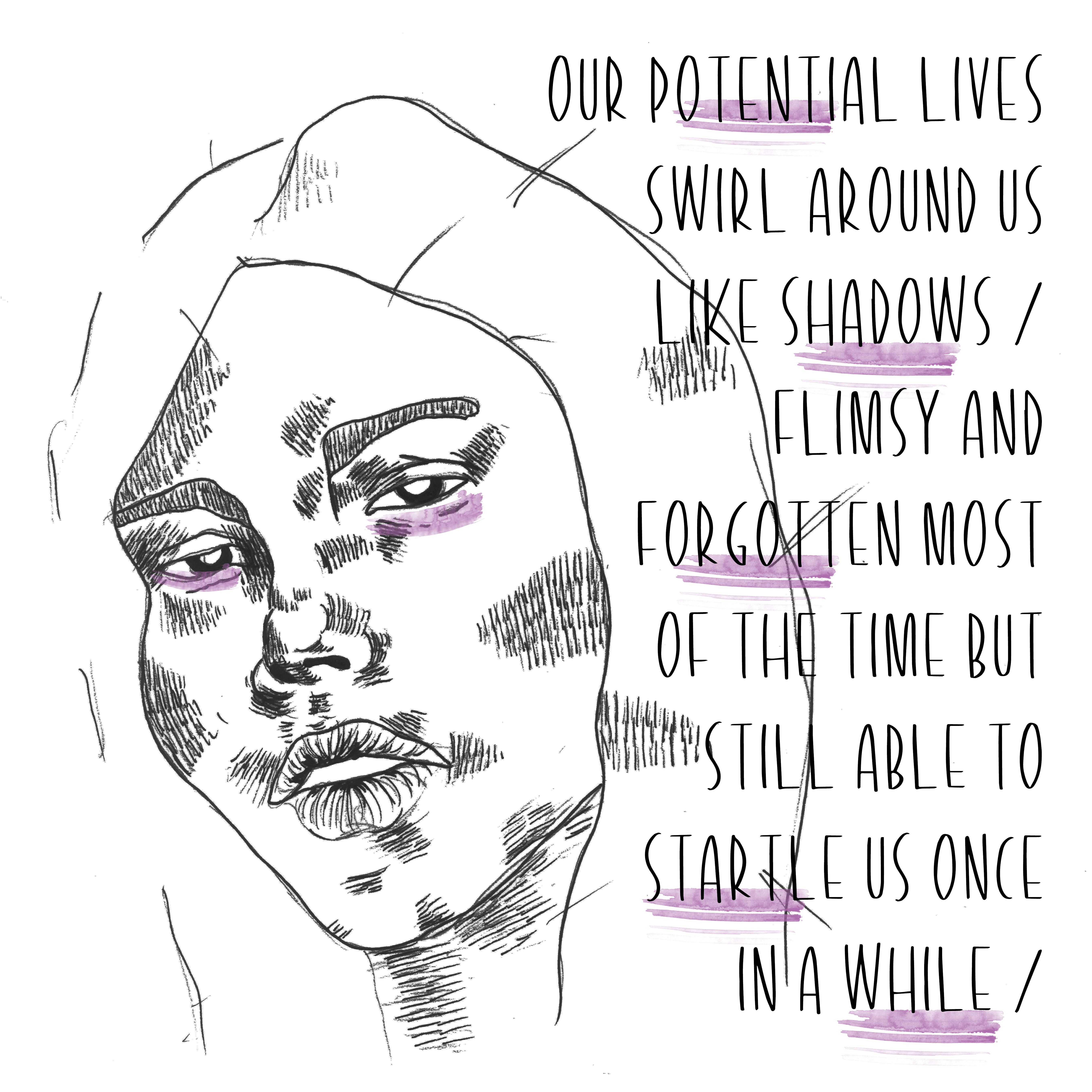 our potential lives