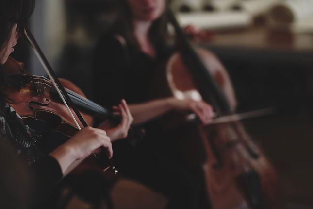 Alice Rickards violin & Sonia Cromarty c