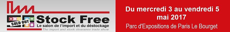 Salon Stock Free, le salon de l'import et du déstockage, en mai, à Paris le bourget, salon d'affaires, du business, imortateurs, déstockeurs, lots, permanent, régulier