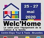 Cohen Trading expose à Welc'Home Bruxelles - 25/27 mai 2020 - Centre Expo Tour & Taxis