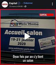 Welc'Home on TV_M6 Capital program