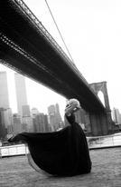 eva herzigova pour nina ricci new york avril 1995