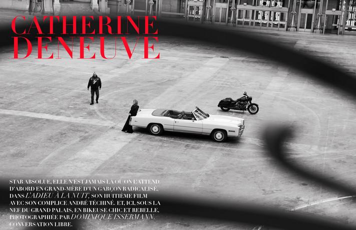 Catherine Deneuve in Madame Figaro avril 2019