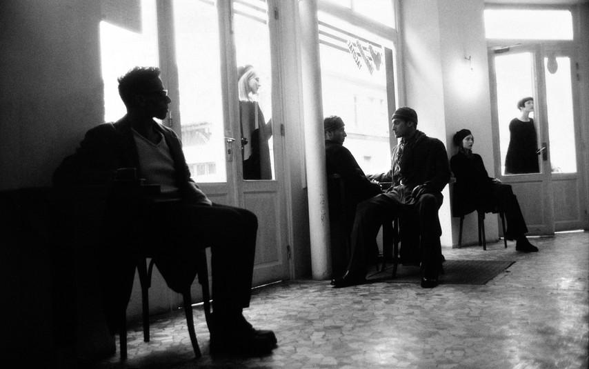 ARMANI - Danielle Zinaich, Nina Brosh, Diane Kruger, Julie Skinner, Benja, Greg Spalding, Bryan Randall, Anne Issermann, Philippe Krootchey & Santiago Valls - 1994