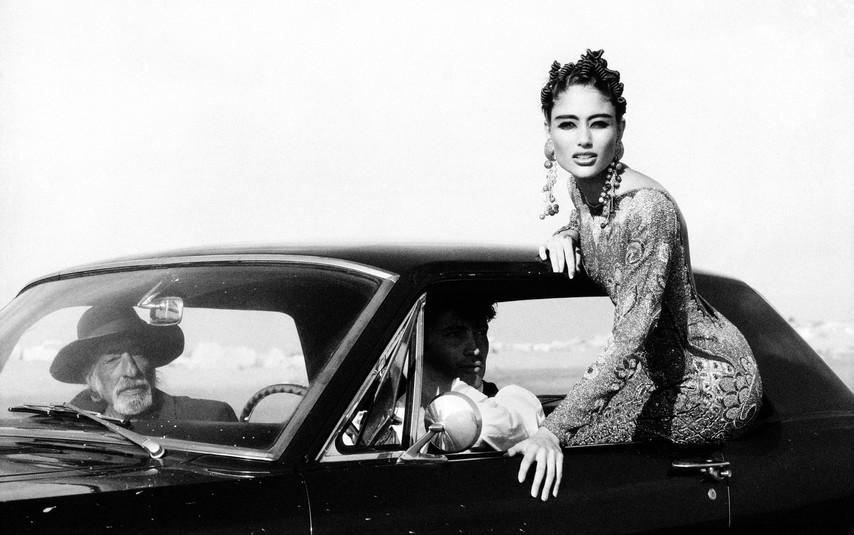 VANITY FAIR ITALIA - Brenda Schad & Hervé Le Bihan - 1990