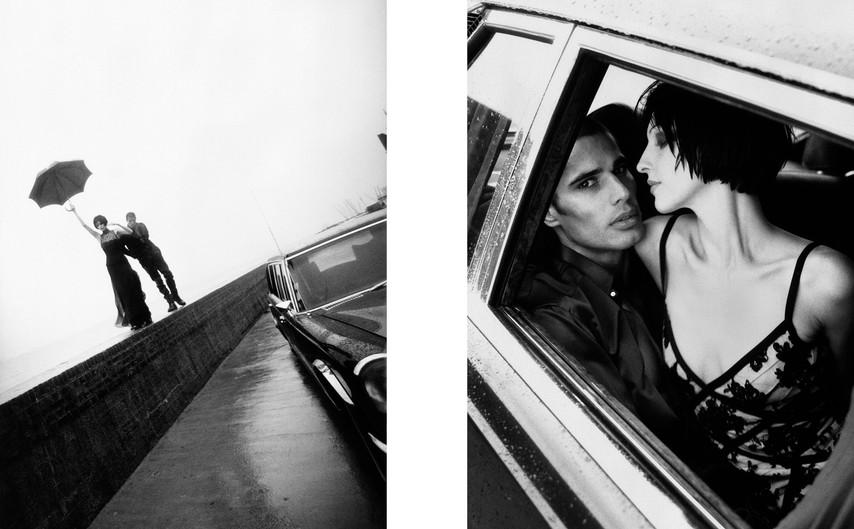 THE NEW YORK TIMES MAGAZINE - Susie Bick & Cameron Alborzian - 1996