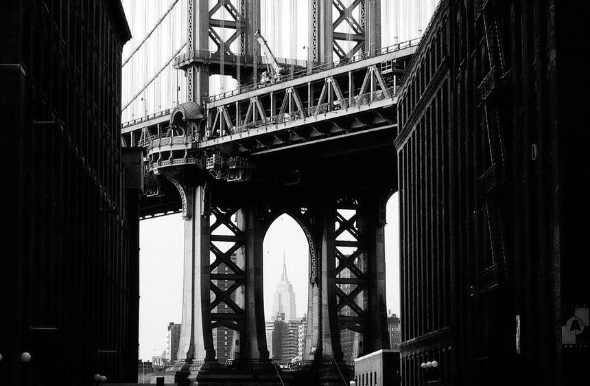 brooklyn bridge new york avril 1995