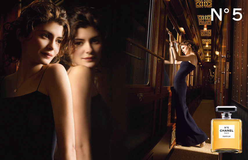 audrey tautou for chanel