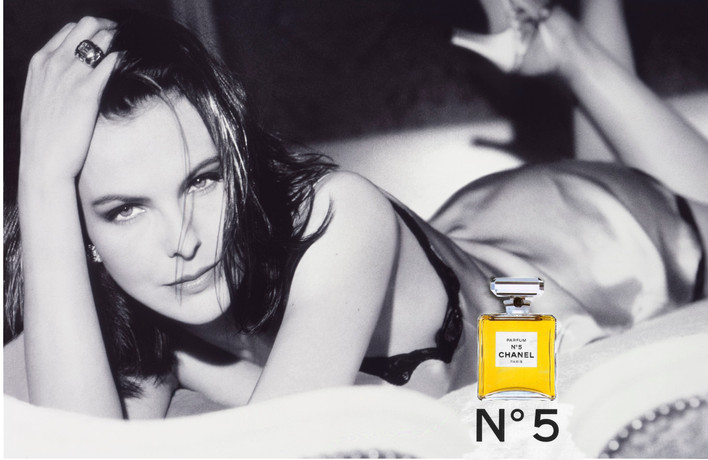carole bouquet for chanel