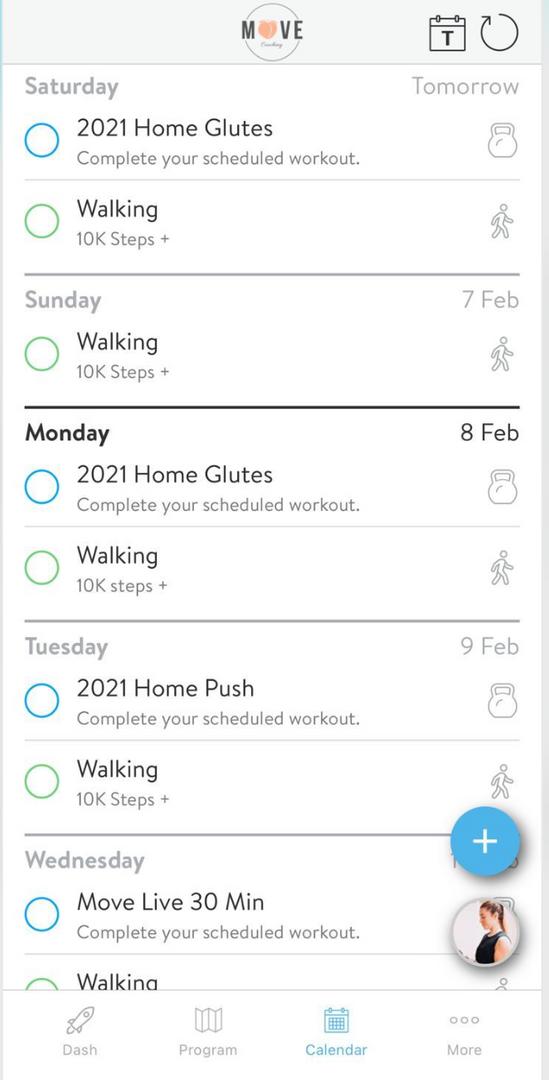 Move by Meg app