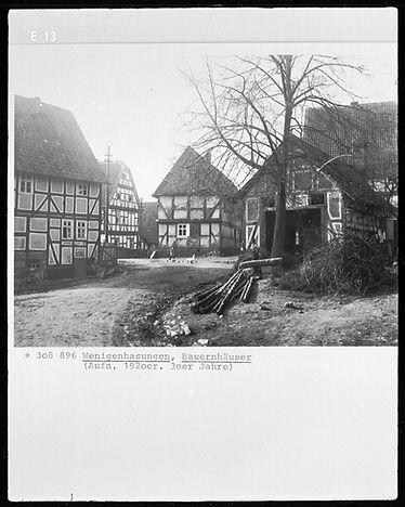 Bauernhaus - Wenigenhasungen © Bildarchiv Foto Marburg / Georg Textor - www.fotomarburg.de