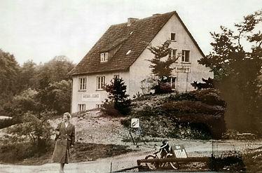 Haus Gasch, Wallstraße, Ortslage Schanze. Anfang der 1950er Jahre © Archiv Micha Appel