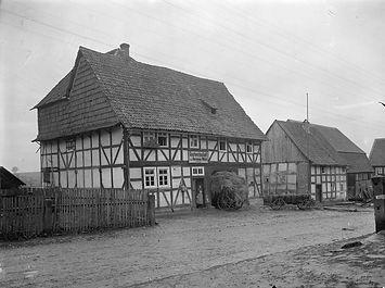 Haus Nr. 7 & Gastwirtschaft Mulot © Bildarchiv Foto Marburg / Georg Textor - www.fotomarburg.de