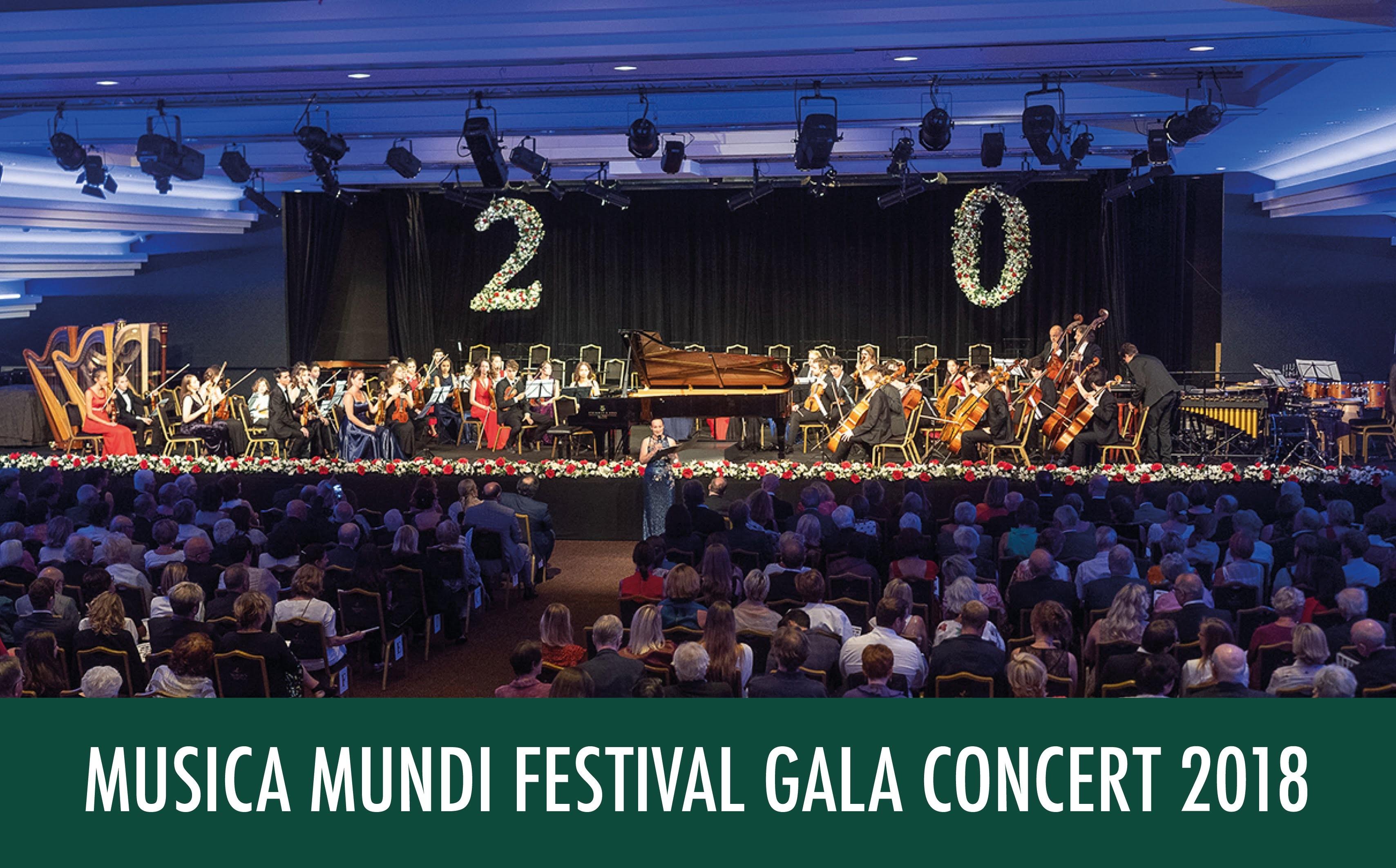 MUSICA MUNDI 2018 FESTIVAL GALA CONCER