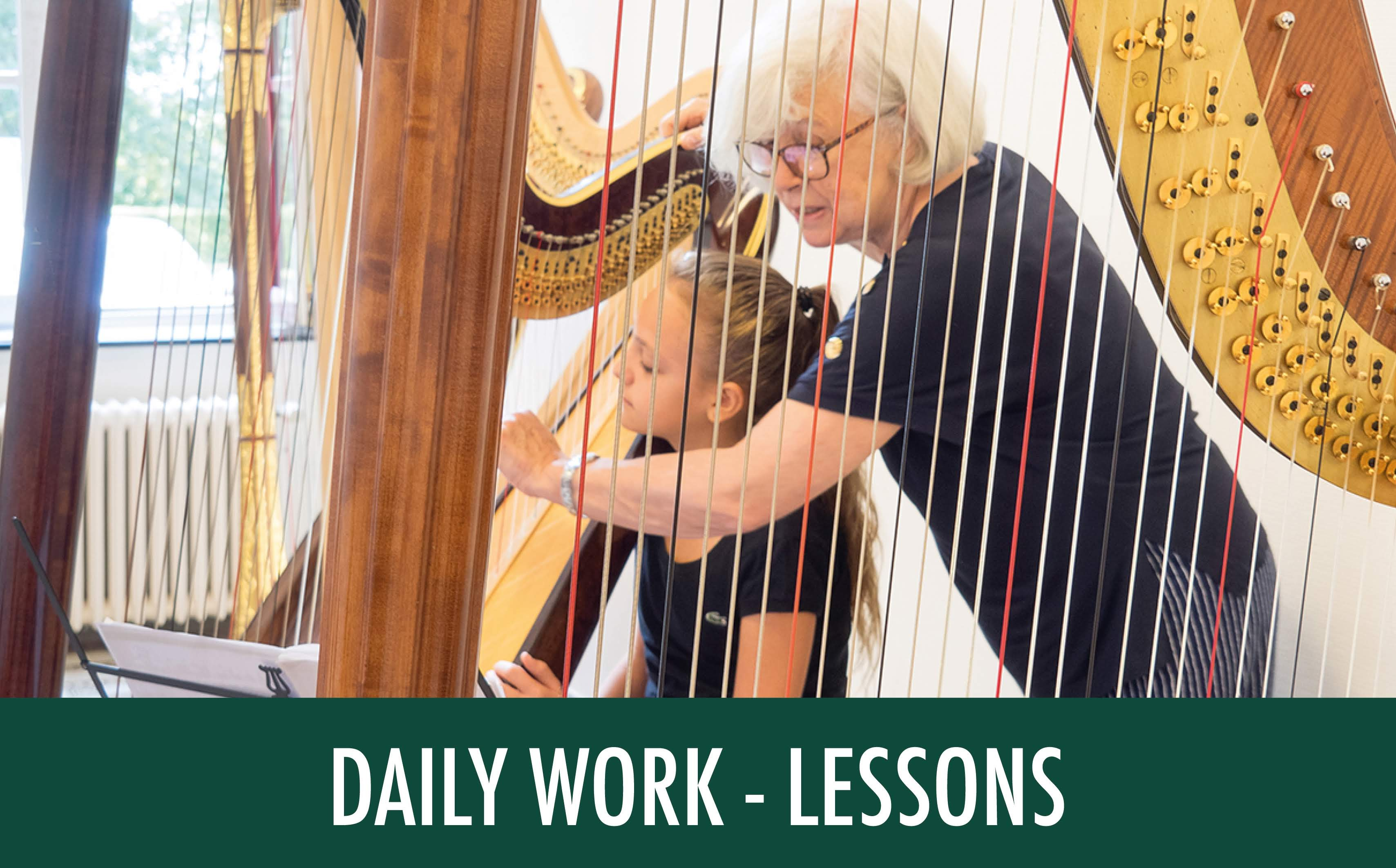 DAILY WORK - LESSONS
