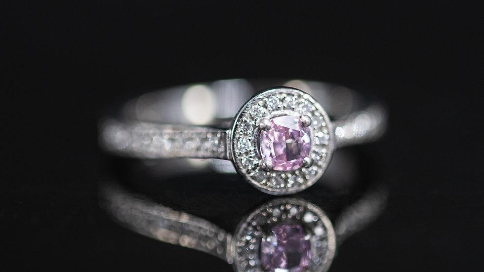 GIA CERT Natural Fancy Pink Diamond