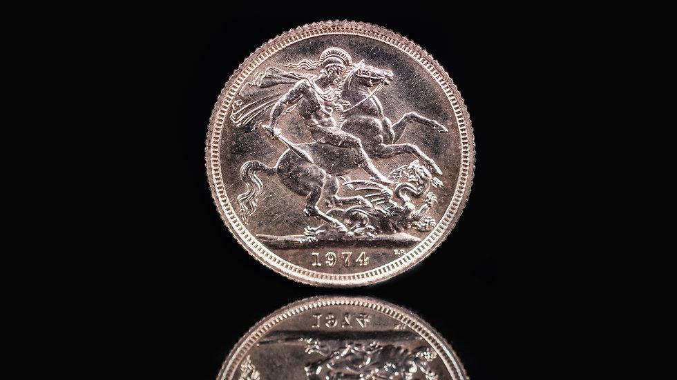 Half Sovereign Gold Coin