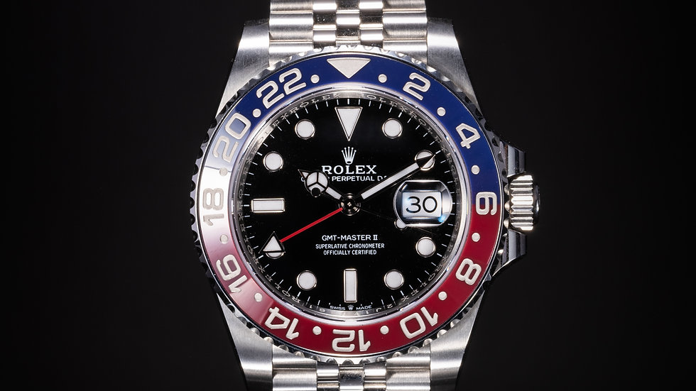 """Rolex GMT - Master II """"Pepsi"""""""