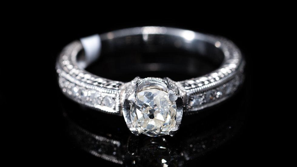 0.75ct Diamond set in Platinum