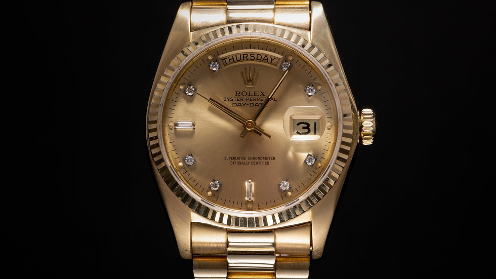 Rolex Daydate 36mm Diamond Dot