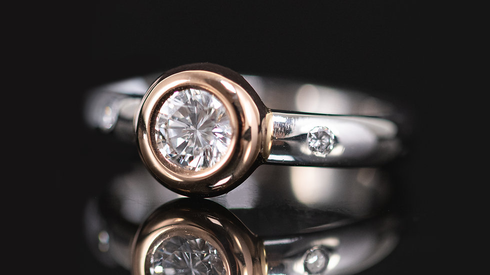 0.50ct Platinum Diamond ring