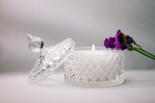 Crystal Palm Wax Candle