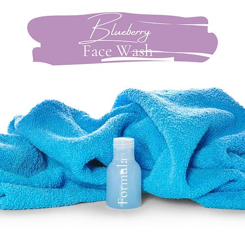 Blueberry Face wash formula
