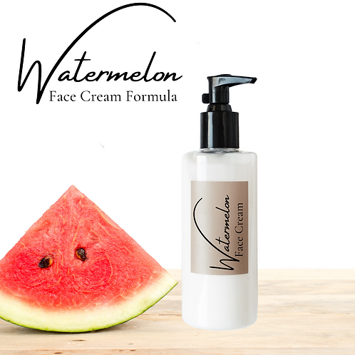 Watermelon Face cream formula