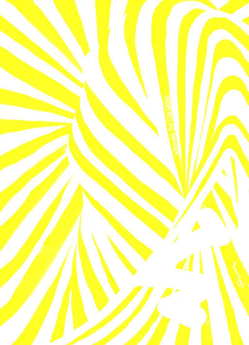 Waling on Sunshine! Sunny Seas art