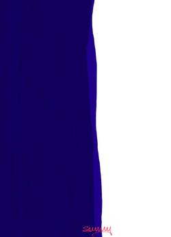 Blue Beau Sunny Seas Art